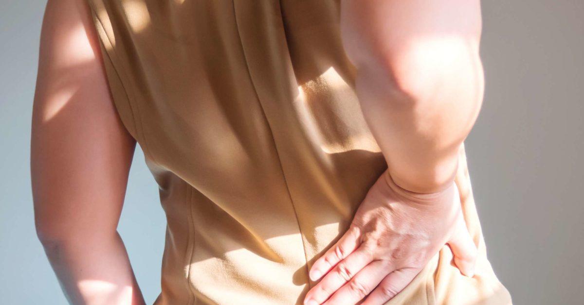 durere în zona dreaptă a șoldului și a coapsei